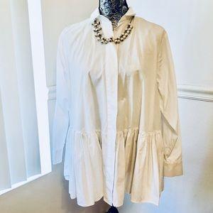 NWT Zara tunic blouse